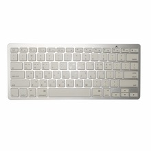 Korean Bluetooth Wireless Keyboard for iPad PC Notebook Laptops White
