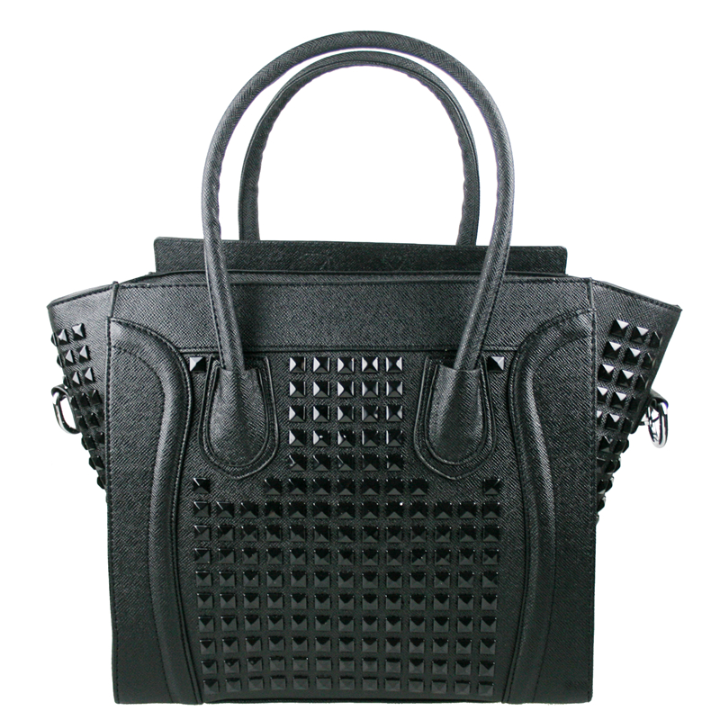 Compare Prices on Studded Handbag Black- Online Shopping/Buy Low ...