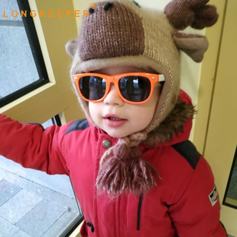 Long Keeeper Child Polarized Sunglasses Boys Girls flexible Eyewear Kids Sunglasses wholesale 100% UV400 Oculos Gafas 20pcs/lot