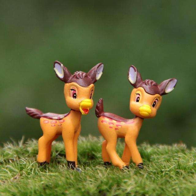 Cartone animato bambi figure sveglie q versione bambi fawn action