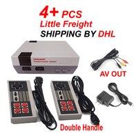 PAL y NTSC Mini AV Out Incorporado 600 Classic Retro doble Asa Consola TV Del Juego de La Familia Mejor Sistema De Entretenimiento Familiar regalo