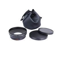 52MM 0 45x Wide Angle Lens Macro Lens 67 UV Front Filter Thread For Cannon D5000