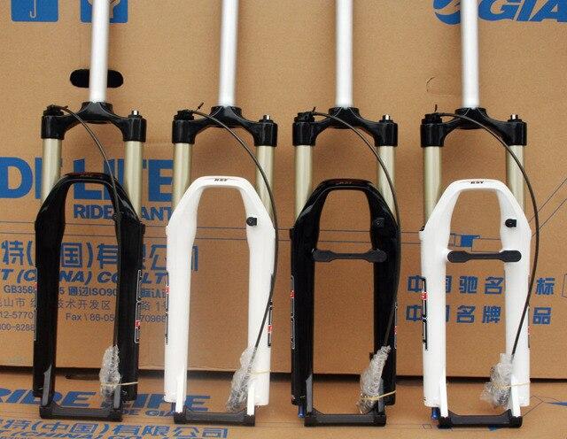 """26"""" RST First Air Suspension Fork  Remote control, Manual control, rebound adjustable,  disc brake fork, V brake fork"""