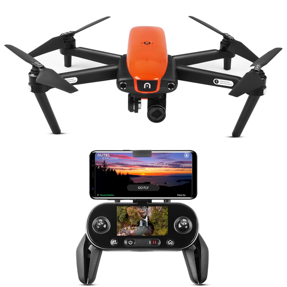 Autel robótica evo Dobrável 4 Zangão Câmera 60FPS 1080 p k 30 Vídeo Ao Vivo Da Câmera com Lente Grande-Angular minutos de Tempo de Vôo