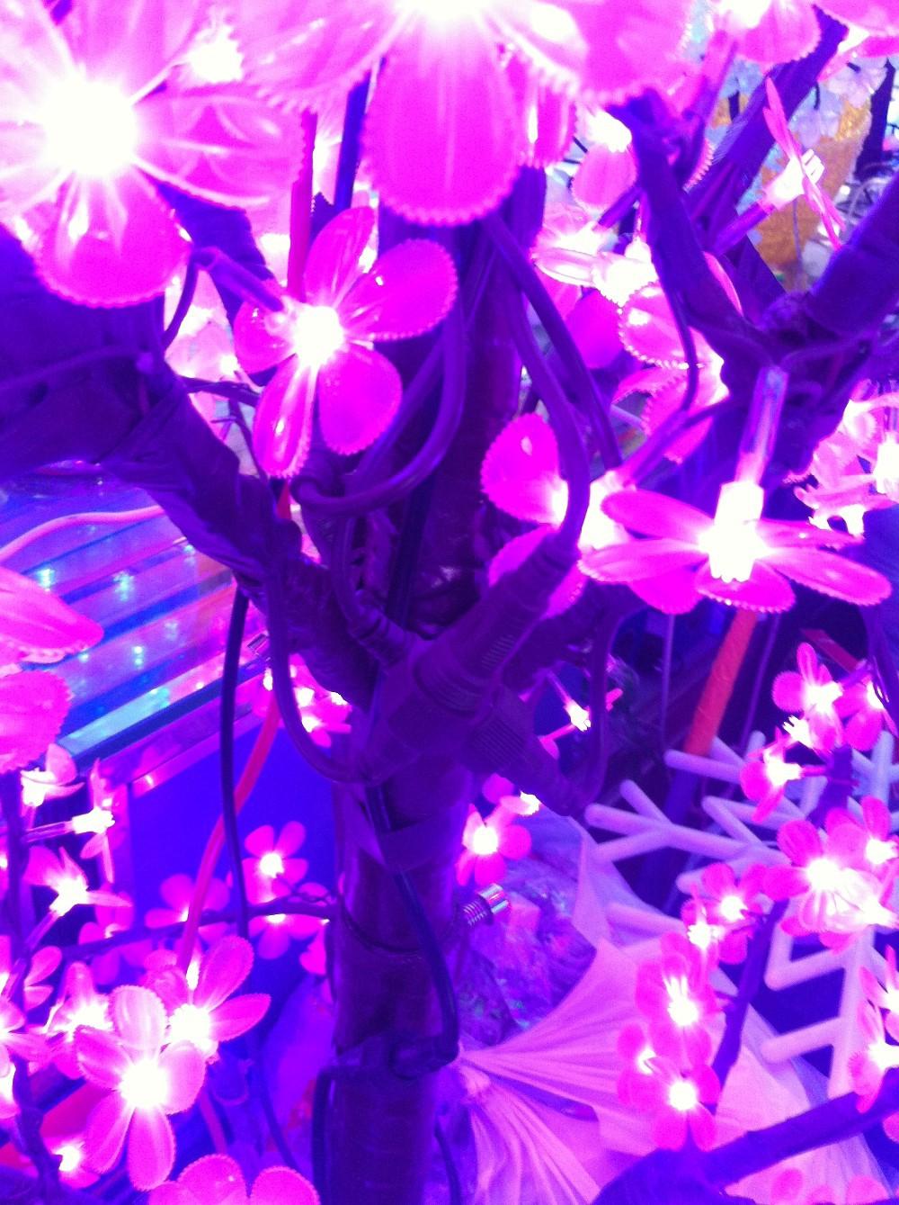 2014 New Holiday Light Christmas Decoration Lights Luxury Handmade Drtificial led Cherry Blossom Tree Light 250cm 1200 Light (3)