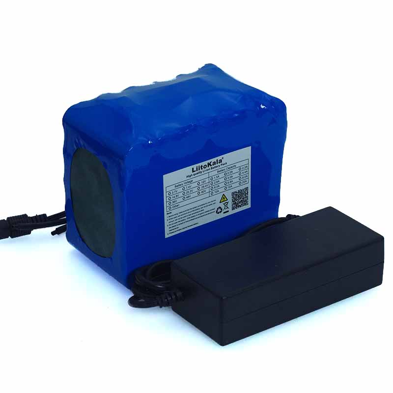 Image 5 - LiitoKal 24V 10Ah 6S5P 18650 Battery Lithium Battery 24V Electric Bicycle Moped Electric Li ion Battery Pack+25.2V 2A Charger-in Battery Packs from Consumer Electronics