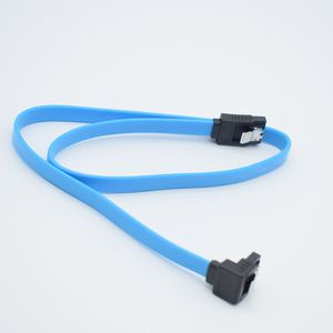 Image 3 - 1PC High Speed Straight Right Angle 6Gbps  50CM SATA 3.0 Cable 6GB/s SATA III SATA 3 Cable Flat Data Cord for HDD SSD