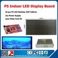 P5 из светодиодов дисплей комплекты 10 шт. smd 3in1 модуль + 1 асинхронный контроллер + 2 suply p5 крытый из светодиодов экран поделки