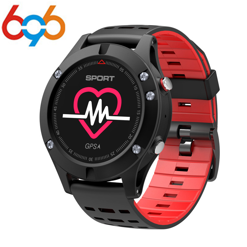 696 100% Original F5 GPS Smart watch Altimeter Barometer Thermometer Bluetooth 4.2 Smartwatch Wearable devices for iOS Android hot sale smartwatch bluetooth smart watch sport watch for ios android phone wearable devices smartphone watch smart electronic