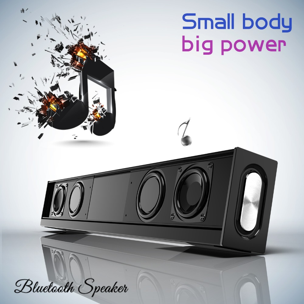 20W Bluetooth Speaker Home Theater Soundbar Bass Wireless Speaker for Computer PC TV with Mic FM Radio Portable Column Subwoofer20W Bluetooth Speaker Home Theater Soundbar Bass Wireless Speaker for Computer PC TV with Mic FM Radio Portable Column Subwoofer