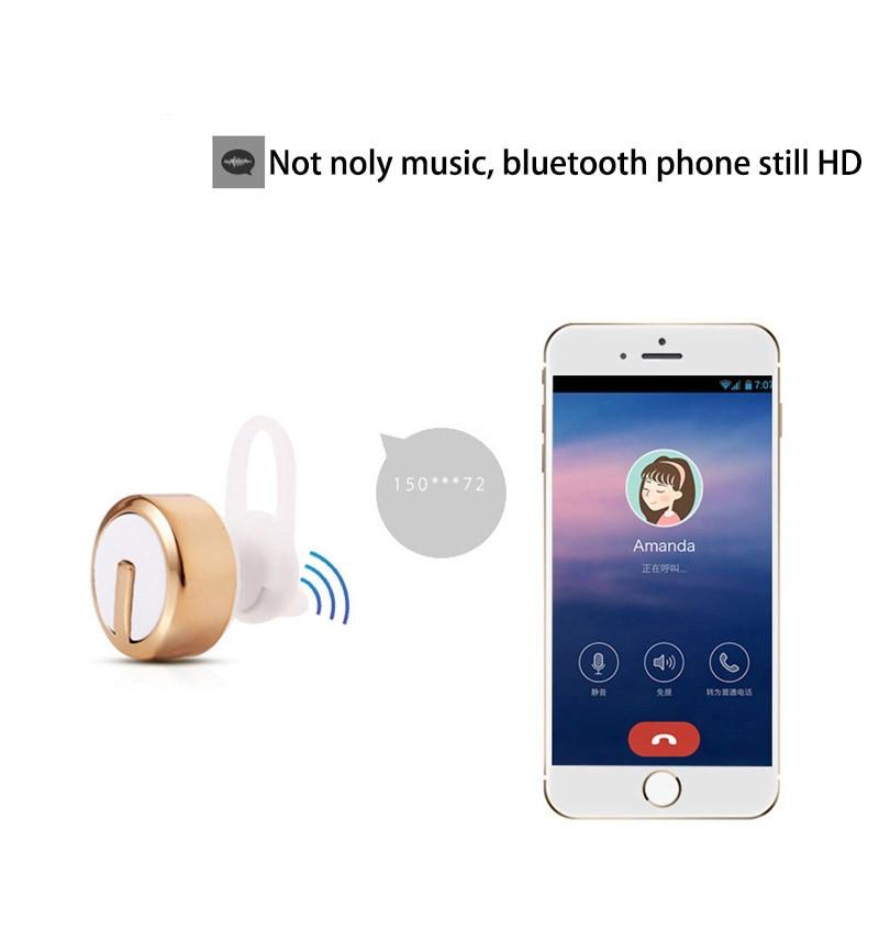 LEPHEE Mini Wireless Earphones Bluetooth Earpieces M99 In Ear Stereo Sport Earbuds+Microphone Handsfree Phone MP3 Player Headset