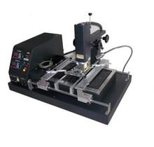 DT-F500 МИНИ BGA паяльная станция Три температурные BGA паяльная станция ИК Подогревателем Сенсорный ЖК-экран PLC системы управления