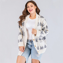 Maternity Coat Knit Bunny Top Long Sleeve Female 2019 Autumn Women Sweater Knitted Jacket Tops