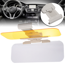 купить Day & Night Vision Car Sun Visor Anti-Glare UV Protector Sun Visor Flip Shield Driving Mirror 32*12CM for Clear View Visor по цене 715.79 рублей