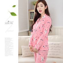 Pregnant Women Long sleeved Cardigan Home Wear Maternity Breastfeeding pajama set maternity nursing sleepwear font b