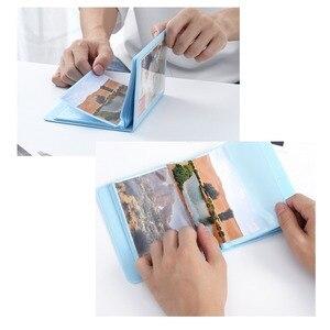 Image 2 - 32 taschen Bunte 3X5 Mini Einzigen Fotoalbum Bild Fall Lagerung für 5 Zoll Foto/Instax BREITE Film