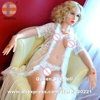 Wmdoll наивысшего качества 158 см жира TPE секс куклы с большими прикладами, китайские куклы производителей, влагалища реального киска, всего тел