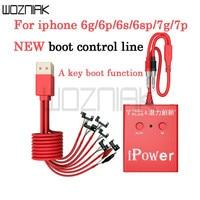 Netzteil Linie Reparatur für IPhone 7 7 Plus 6S 6SP 6 6P Telefon Reparatur Werkzeuge Schnell Starten aktuelle Schutz|Handwerkzeug-Sets|Werkzeug -