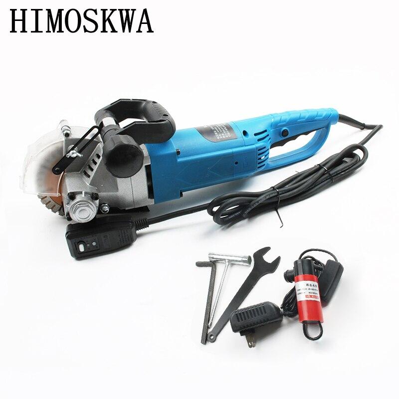 HIMOSKWA 4500 w Multifonction Mur De Pierre Route Chasse Machine avec 5 pcs Lames de scie De Coupe Gorge Matériel électrique outils électriques