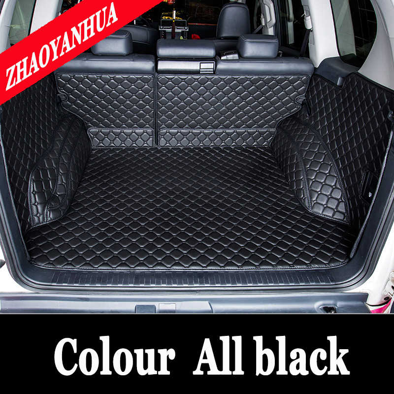 Custom car trunk mats fit All Models for Mitsubishi Lancer Galant ASX Pajero sport V93 Outlander styling trunk mats