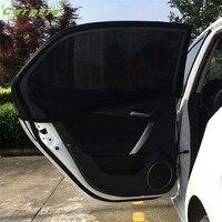 Dropship 2x Car Rear Window UV Mesh Sun Shades Blind Kids Children Sunshade Blocker Black Gift