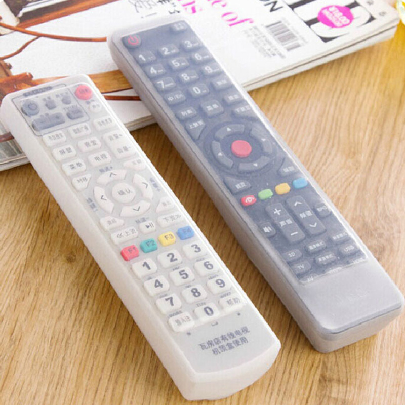 Remote Control Covers Household Merchandises Waterproof Dust Cover TV Remote Control Home Air Conditioning 1 Pcs