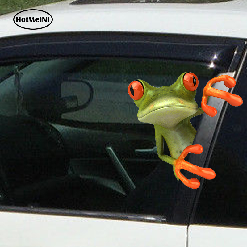 Happy Tree Frog Car or Truck Window Laptop Decal Sticker