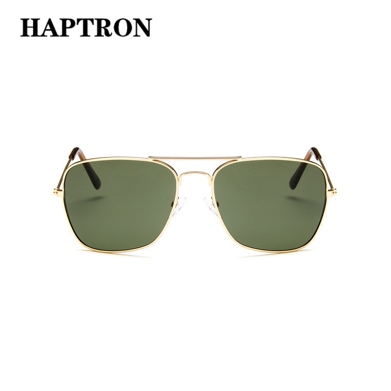 Herren-brillen Sonnenbrillen Gut Ausgebildete Haptron Luxus Männer Sonnenbrille Marke Vintage Fahren Gläser Frauen Sonnenbrille Grün Quadratischen Spiegel Retro Oculos De Sol Masculino Hohe Sicherheit