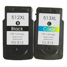 Compatible Ink Cartridges512XL 513xl for Canon PG-512 CL-513 for CanonPIXMA MP252 MP270 MP280 MP480