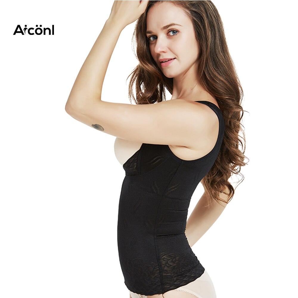 05548e496e women Body Shaper Corset Top Modeling Strap waist trainer Slimming Girdles  Corrective Underwear bodysuit sexy Shapewear lingerie-in Tops from Underwear  ...