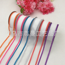 Ribbon 3.8cm Double-Sided Yarn Belt Clothing Shoes Accessories Gift Box Cake Supplies Ultrasonic Embossed