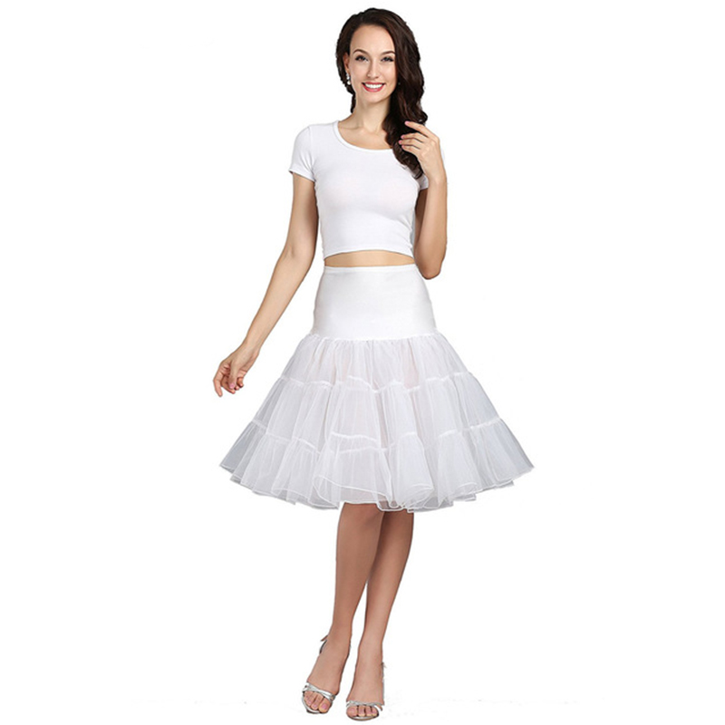 Wowbridal Short Organza Petticoat Crinoline Vintage Wedding Bridal Petticoat for Wedding Dresses Underskirt Rockabilly Tutu цены онлайн