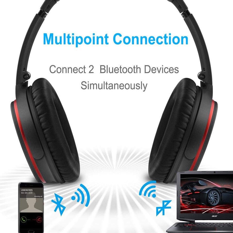 August EP735 Bluetooth наушники с AptX и активным шумоподавлением ANC - 3