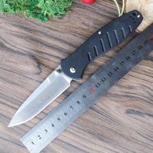 58-60HRC Ganzo G738 440C blade G10 Handle edc Folding knife Survival Camping tool Hunting Pocket Knife tactical edc outdoor tool