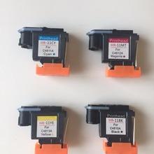 Для hp 11 C4810A C4811A C4812A C4813A печатающая головка 1000 1100 1200 2200 2280 2300 2600 2800 CP1700 100 500 9100 9120 K850