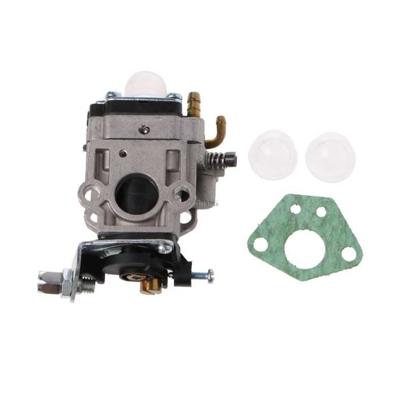 Acidentes vasculares cerebrais 2 15mm MP15 Carb Carburador Kit Para 43cc 47cc 49cc 50cc Gas Scooter Pocket Bike Abr