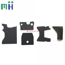 NEW For Nikon DF Body Rubber Grip Front Side Bottom Top Card Rubber Camera Repair Part Unit
