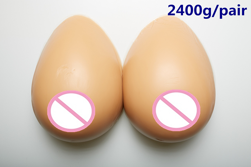 2400g/pair Brown Realistic Breast Fake Boobs Artificial Breast Silicone-Breast-Prosthesis Crossdresser Adhesive Silicone Breast цена