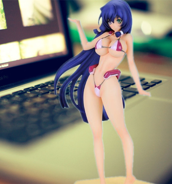 16.5CM Japanese sexy anime figure Horizon on the Middle of Nowhere swimsuit ver action figure collectible model toys for boys the figure of dante an essay on the vita nuova