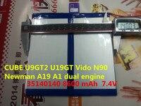 CUBE U9GT2 U19GT Vido N90 Newman A19 A1 Dual Engine 3670140 36140140 8600 MAh Chi V9