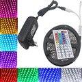 SMD 5050 RGB СВЕТОДИОДНЫЕ Полосы света 5 М 10 м 60 60leds/м DC12V светодиодные ленты лента диод гибкий водонепроницаемый 44 ключи Контроллер адаптер набор