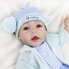 Bebe-reborn dolls for girls  55cm silicone reborn baby doll l.o.l lifelike toddler baby boy boneca reborn  surprise gifts NPK DO