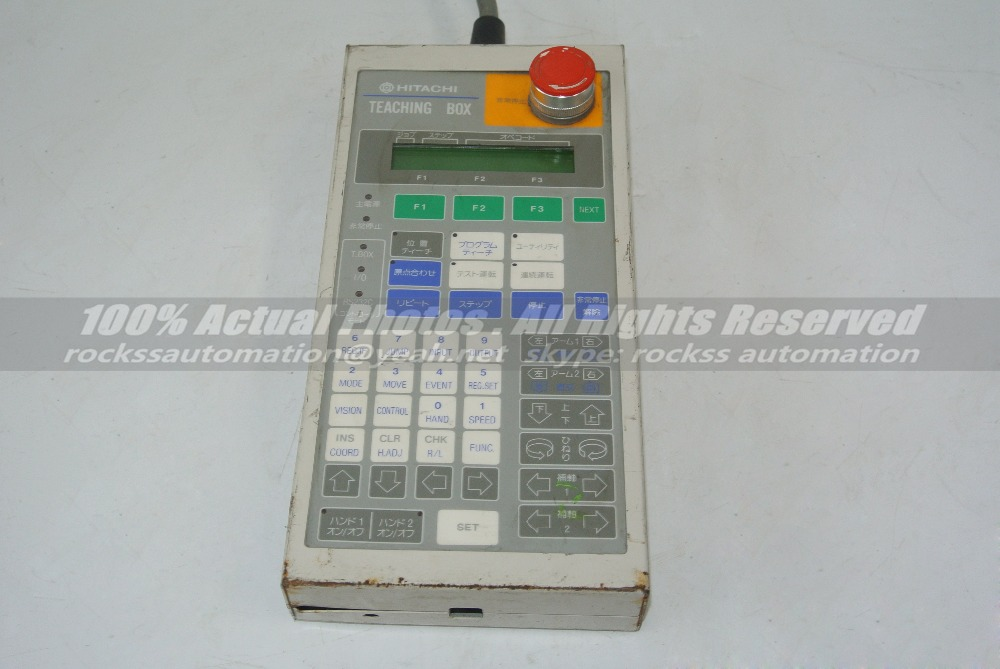 Used In Good Condition TEACHING BOX With Free DHL used in good condition ka20c 750w with free dhl
