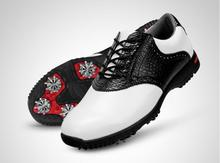 High quality!PGM Mens Golf Sports Spiked Genuine Leather ShoesLight weight Breathable Waterproof,Free shipping
