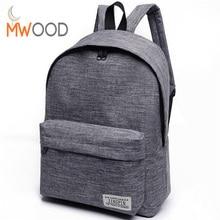 Модные Простые холст рюкзак мужской высокое качество школьный рюкзак для ноутбука Женский Путешествия Bagpack Повседневное stachels Рюкзак Mochila