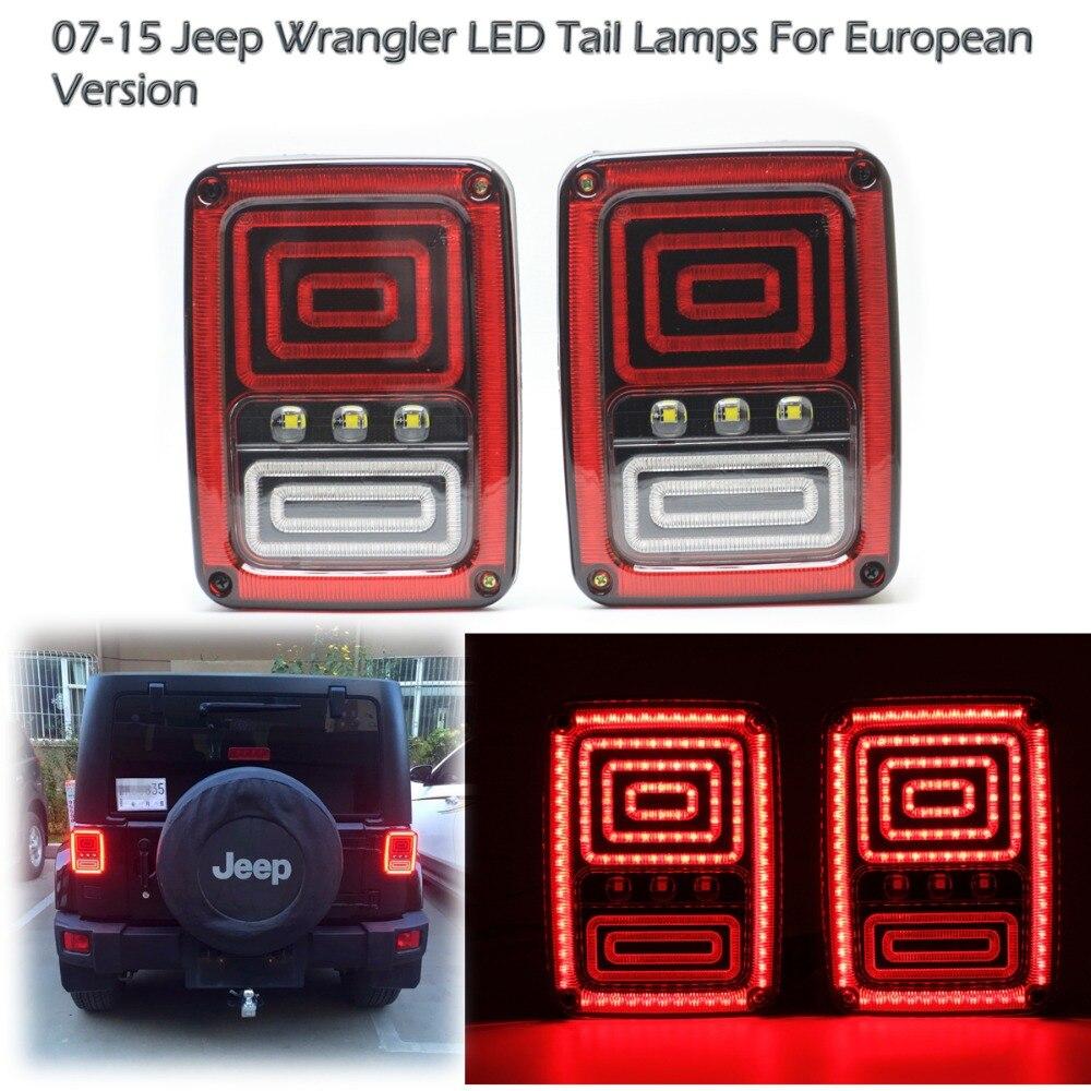 Freies Verschiffen 1 Para für 07-15 Jeep Wrangler JK LED - Motorradzubehör und Teile
