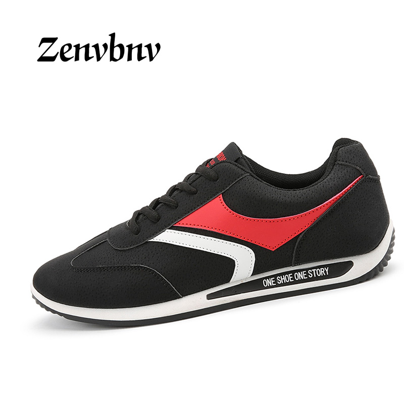 ZENVBNV 2017 New Brand Men Casual Shoes good quality Comfortable suede stripes Shoes mens Autumn winter fashion Shoes 39~44 size casual shoes men breathable new fashion men dress shoes good quality working shoes size 38 44 aa30064