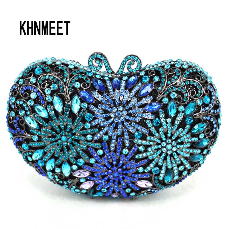 где купить Fashion Firework Europe Style women Diamond Evening Clutch Bag small mini bag women handbag crossbody Wedding Party Purse sc535 дешево