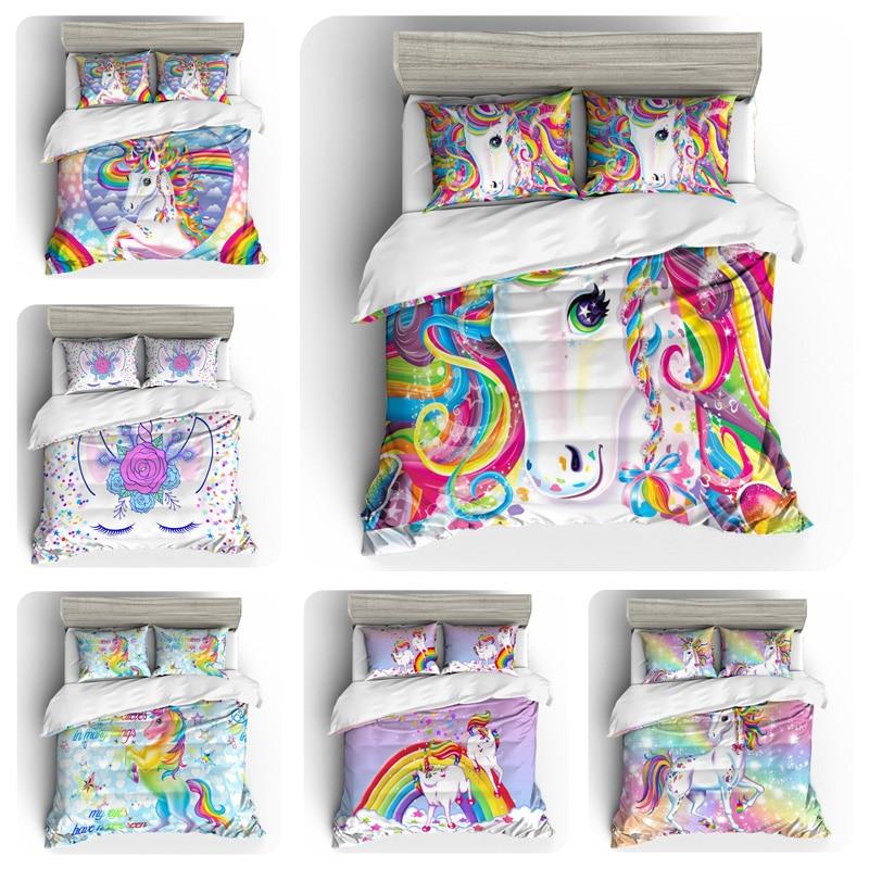 Bedding Set Duvet Cover Unicorn HomeBedding Set Duvet Cover Unicorn Home