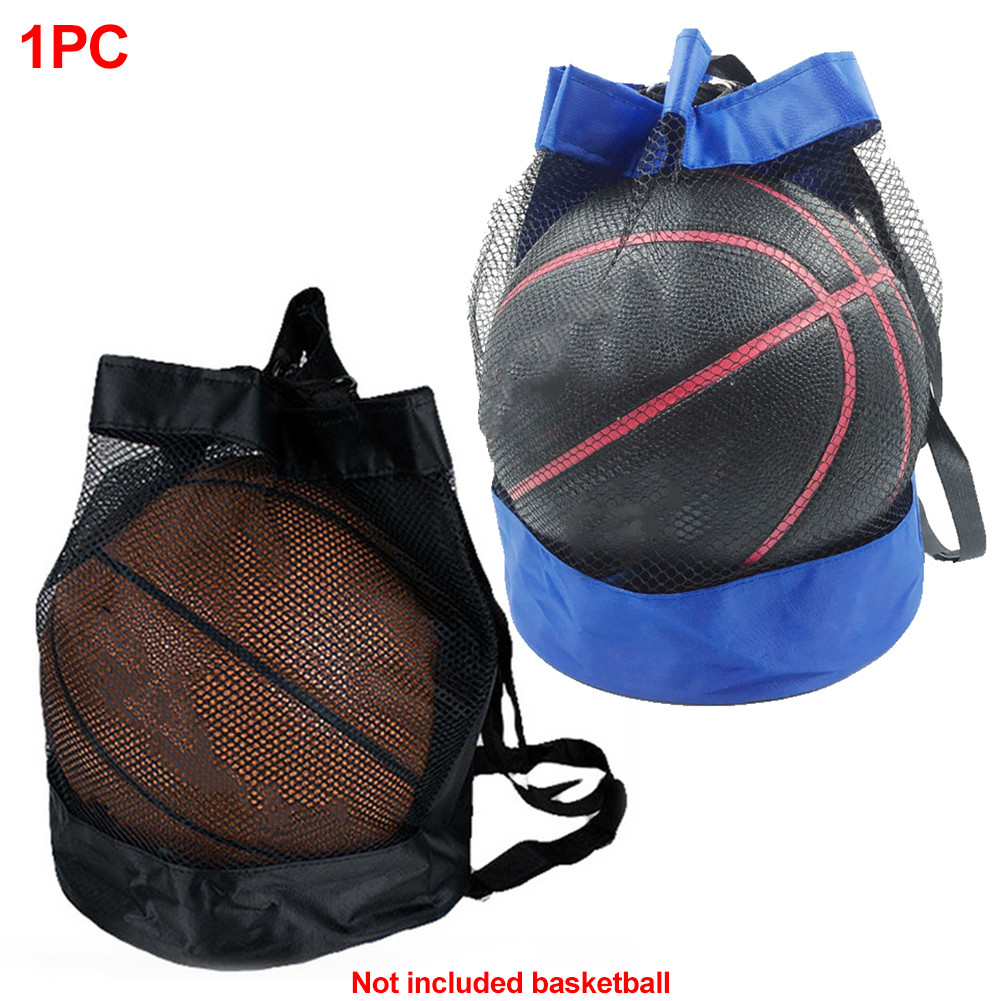 Crossbody Football Storage Oxford Cloth Durable Multipurpose Mesh Bag Outdoor Large Capacity Basketball Carry Net Portable Pouch